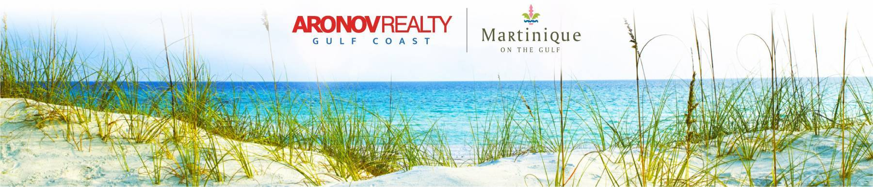 Aronov Realty Gulf Coast Vacation Rentals Martinique on the Gulr